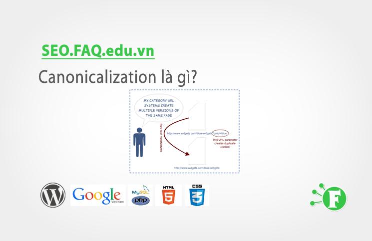 Canonicalization là gì?