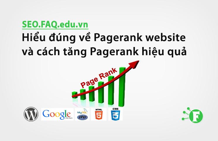 Hiểu đúng về Pagerank website và cách tăng Pagerank hiệu quả