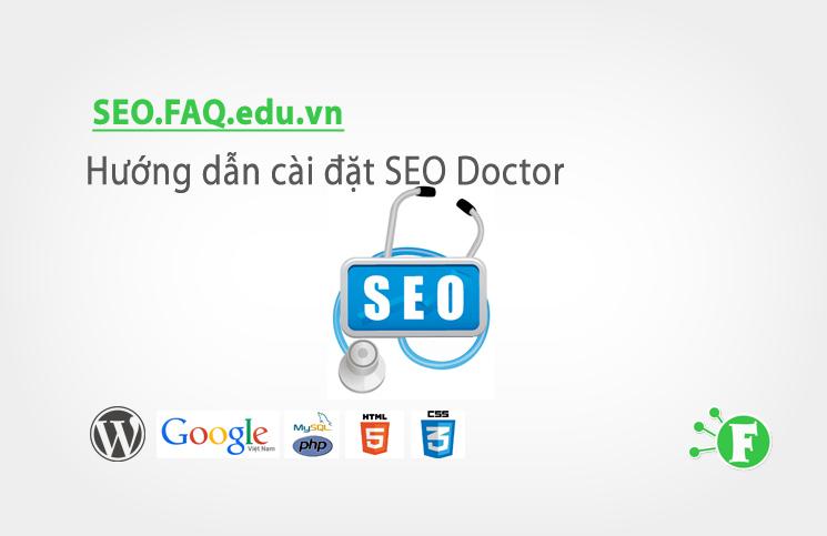 Hướng dẫn cài đặt SEO Doctor
