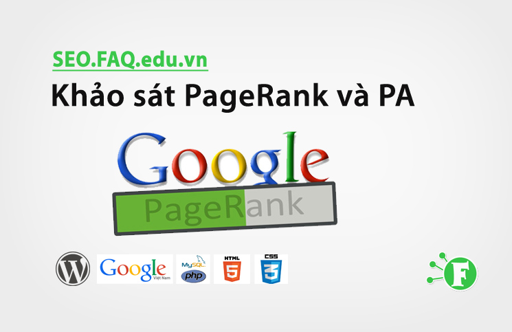 Khảo sát PageRank và PA