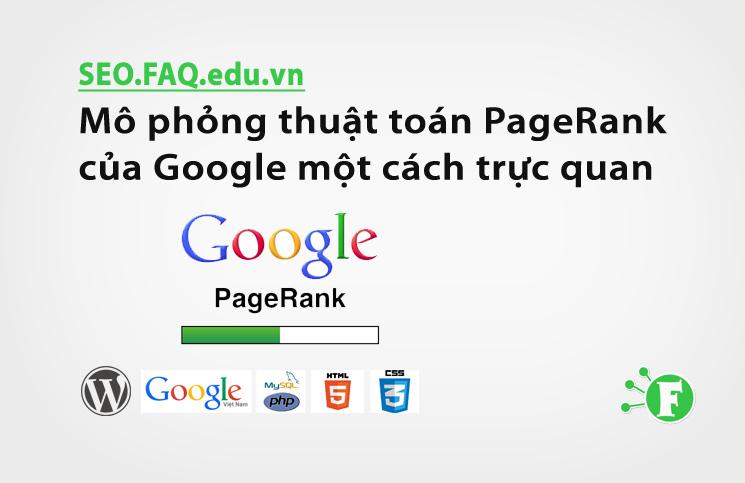 Mô phỏng thuật toán PageRank của Google một cách trực quan