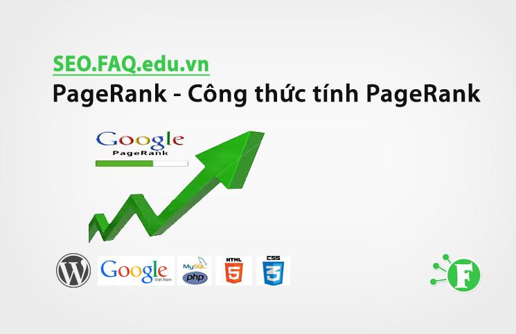 PageRank – Công thức tính PageRank