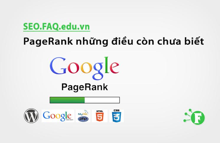 PageRank những điều còn chưa biết