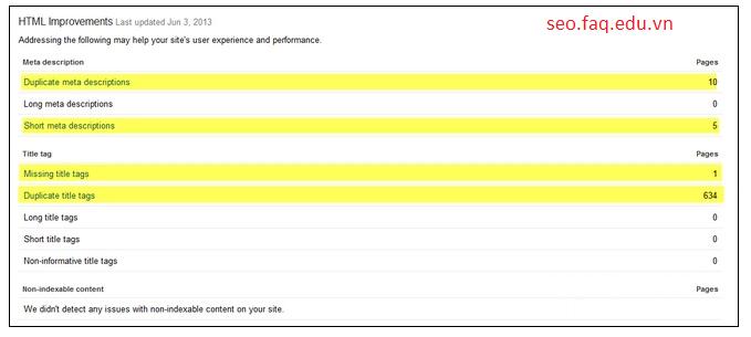 6 cách cải thiện chiến lược SEO - Cải tiến HTML