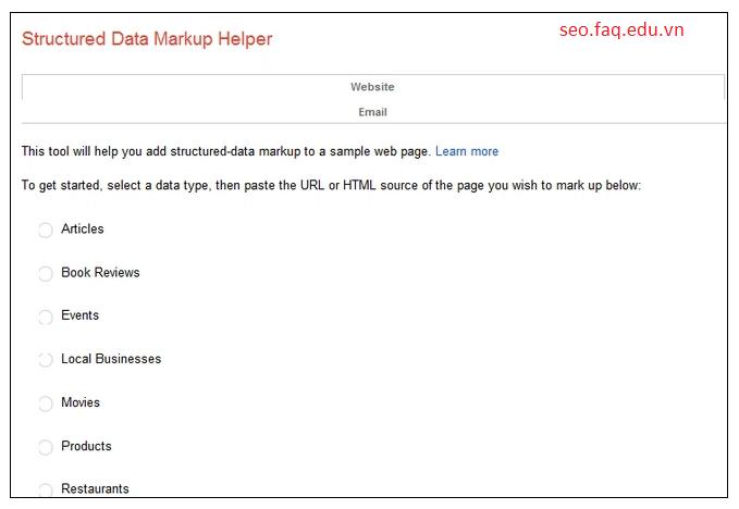 6 cách cải thiện chiến lược SEO -Data Markup Helper