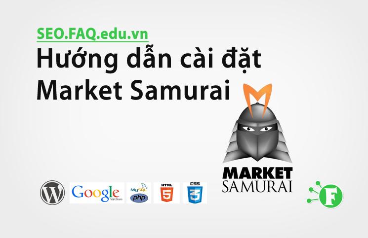 Hướng dẫn cài đặt Market Samurai