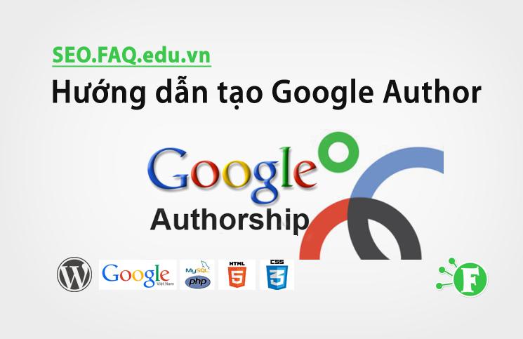 Hướng dẫn tạo Google Author