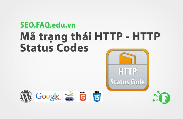 Mã trạng thái HTTP – HTTP Status Codes