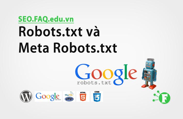 Robots.txt và Meta Robots.txt