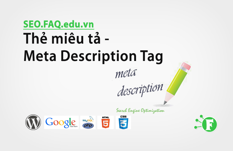 Thẻ miêu tả – Meta Description Tag