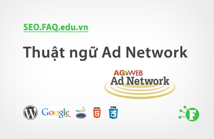 Thuật ngữ Ad Network