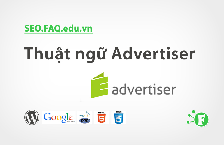 Thuật ngữ Advertiser