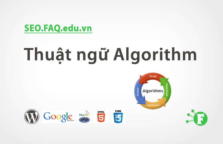Thuật ngữ Algorithm