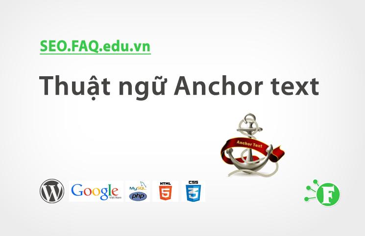 Thuật ngữ Anchor text