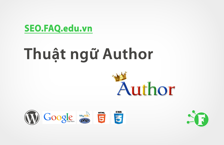 Thuật ngữ Author