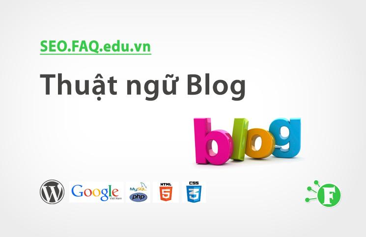 Thuật ngữ Blog