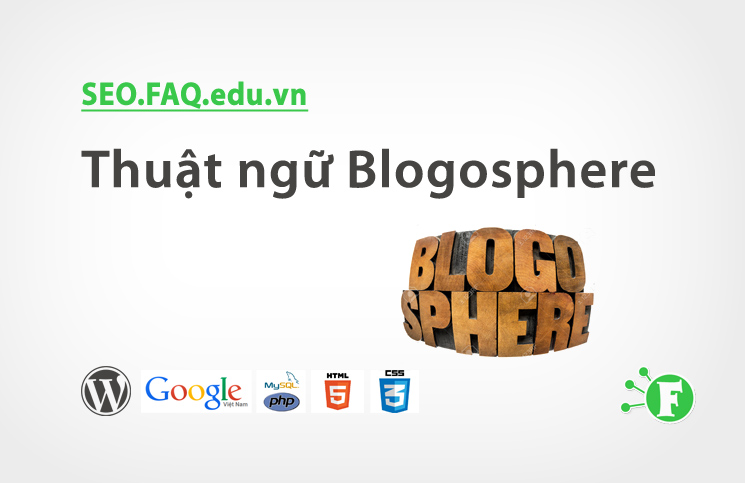 Thuật ngữ Blogosphere