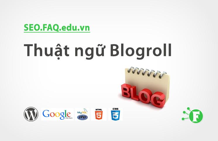 Thuật ngữ Blogroll