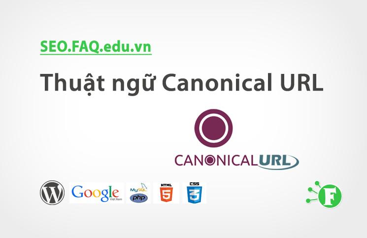 Thuật ngữ Canonical URL
