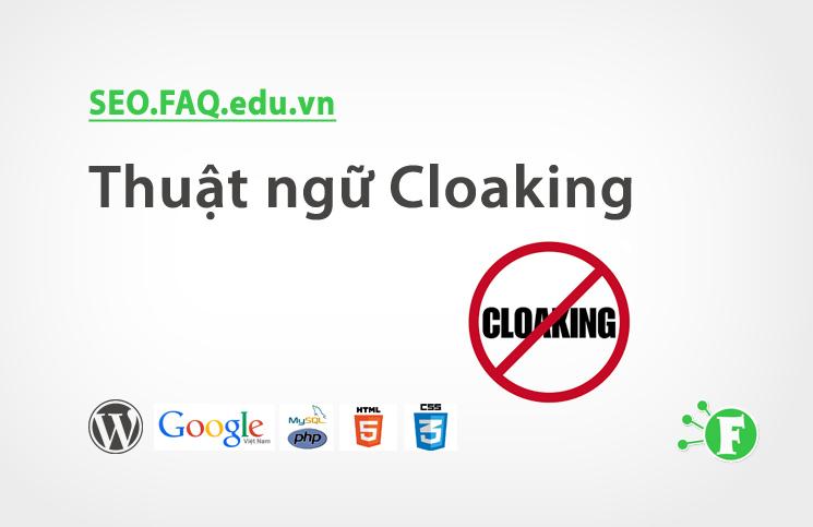 Thuật ngữ Cloaking