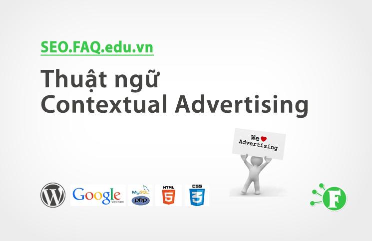 Thuật ngữ Contextual Advertising