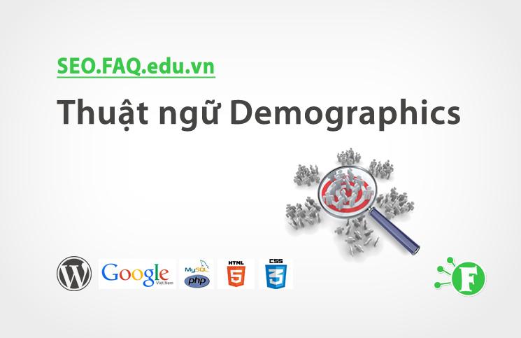 Thuật ngữ Demographics