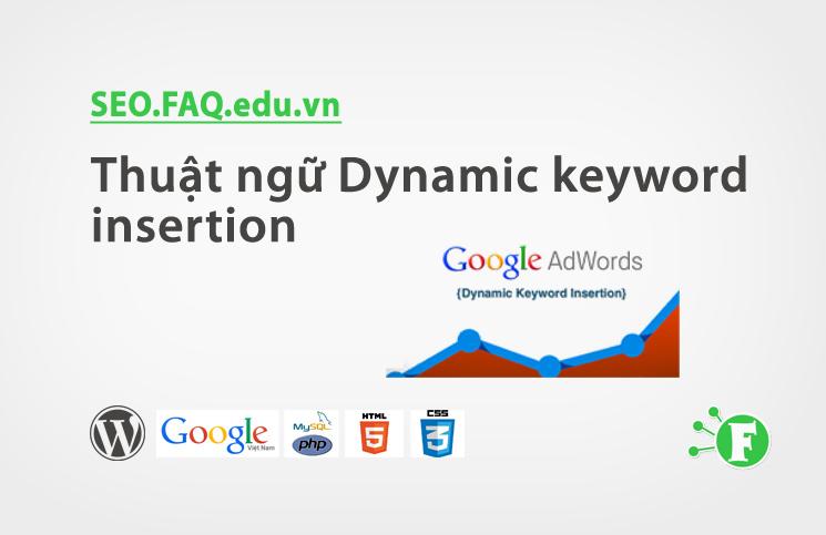 Thuật ngữ Dynamic keyword insertion