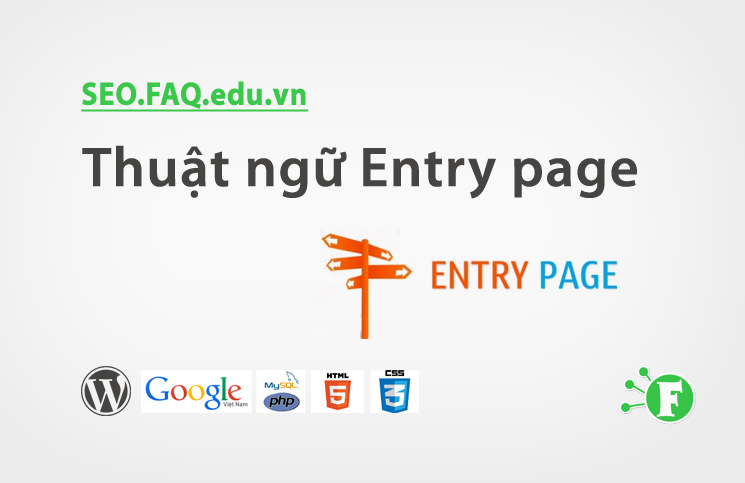 Thuật ngữ Entry page