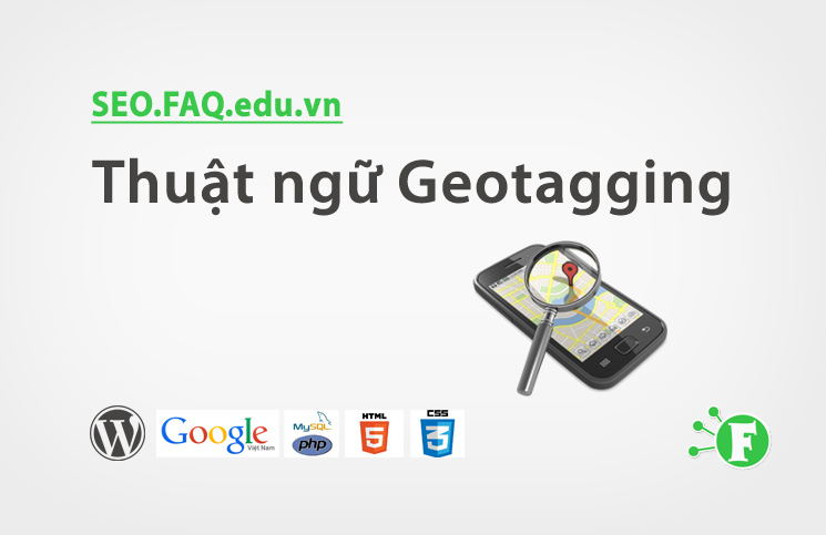 Thuật ngữ Geo tagging