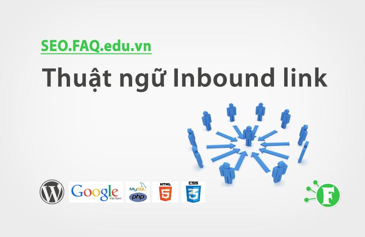 Thuật ngữ Inbound link