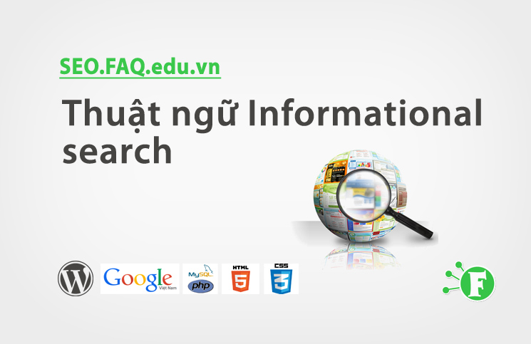 Thuật ngữ Informational search