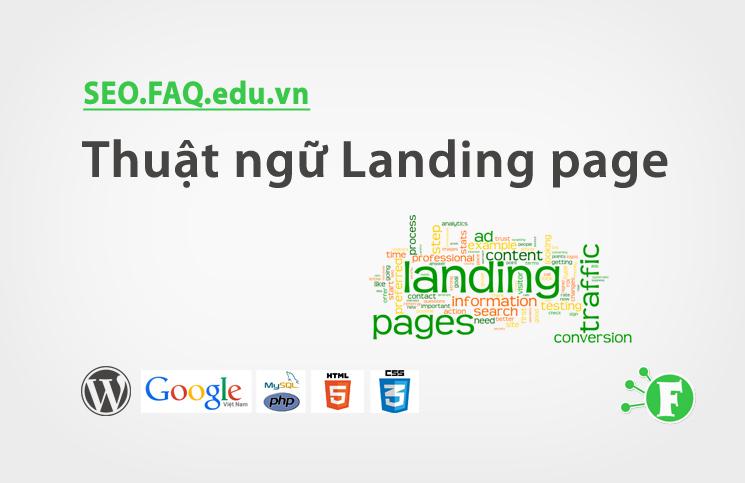 Thuật ngữ Landing page