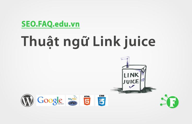 Thuật ngữ Link juice