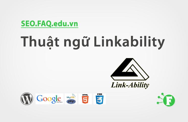 Thuật ngữ Linkability