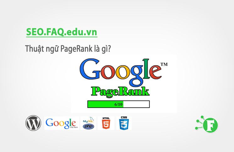 Thuật ngữ PageRank là gì?