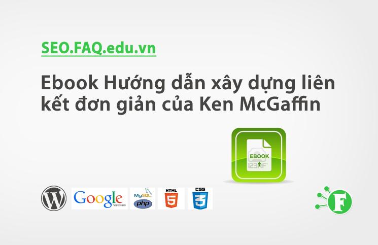 Ebook Hướng dẫn xây dựng liên kết đơn giản của Ken McGaffin