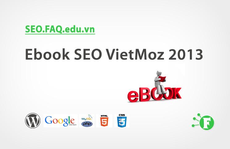 Ebook SEO VietMoz 2013
