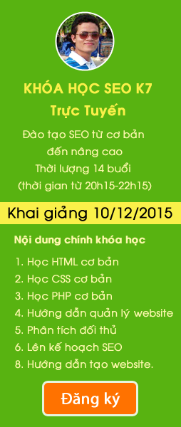 Dạy học SEO - Hoangluyen.com