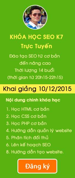 Dạy học SEO - Hoangluyen.com
